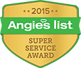 2015 Angie's List Super Service Award Logo